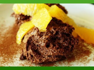 Weihnachtsdessert - Mousse au Chocolat Rezept