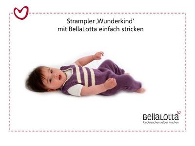 Babystrampler einfach stricken