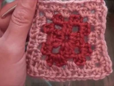 Decke, Ihr 84. Quadrat für ihre Patchwork Decke Häkeln! Das Granny ...