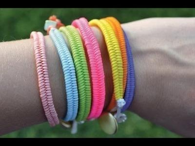 Diy Armband selber machen. Diy Armband knoten ideen.