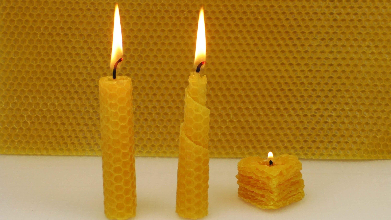 Kerzen selber machen | 3 einfache Kerzen mit Kindern basteln