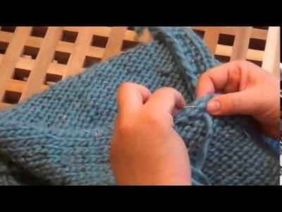 Tutorial: Poncho stricken für Anfänger (Strick Anleitung)