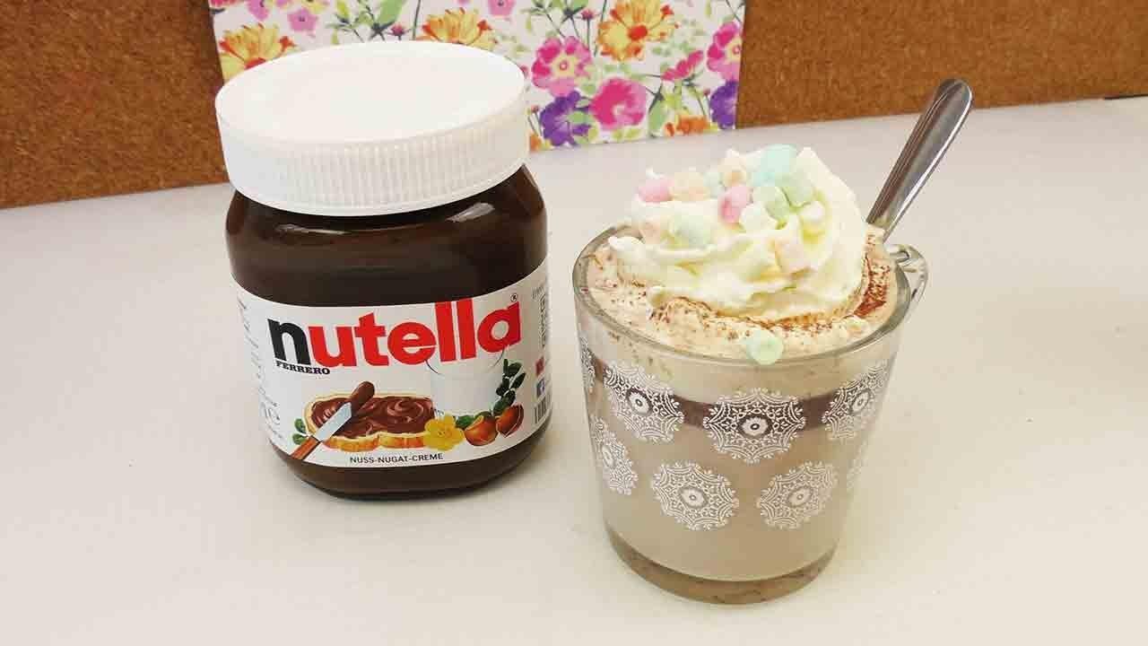 Heiße Schokolade mit Nutella & Sahne | Unglaublich lecker | Winter Getränk | Schnell & Einfach