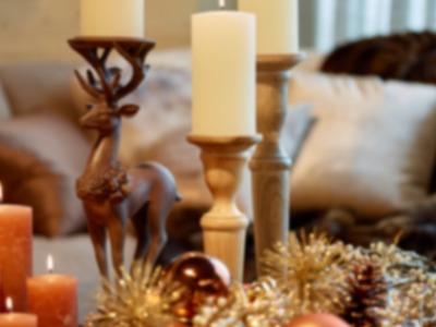 Weihnachtsdeko - Tischdeko selber basteln