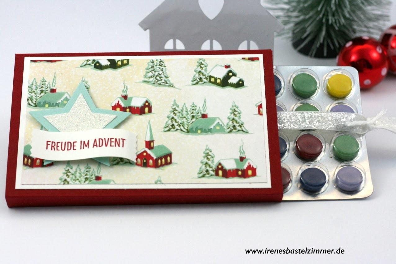 Adventskalender basteln**Adventskalender to go**Bastelidee für Weihnachten