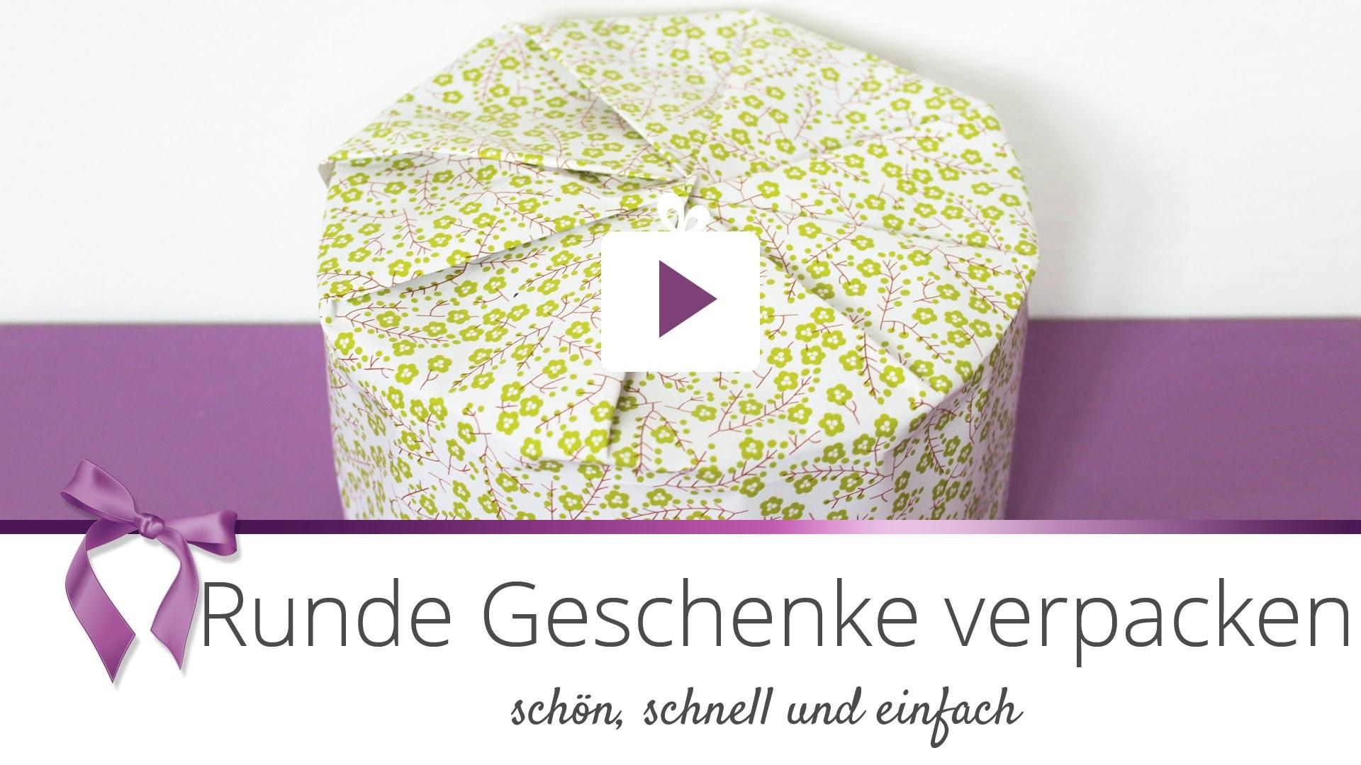 [Geschenke] Runde Geschenke verpacken | DANATO