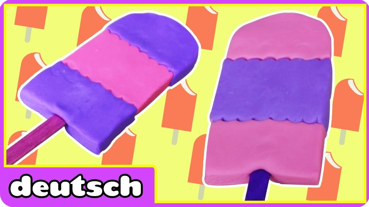 Plastilin- Eiscreme Bar - PlayDoh Icecream Bars | PlayDoh Creation | Knete Videos