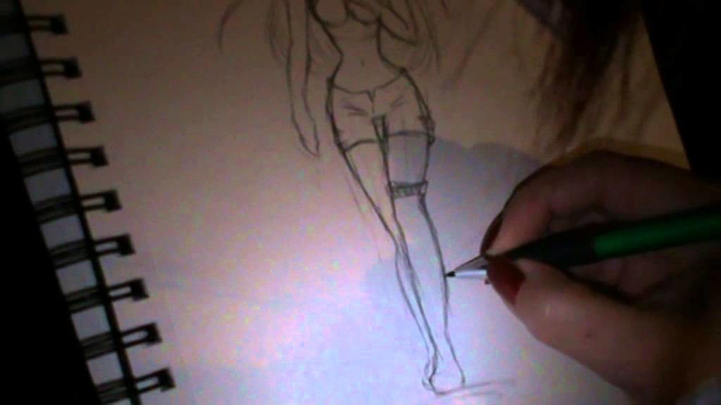 How to draw manga: At least put some clothes on! (female body: #2) german