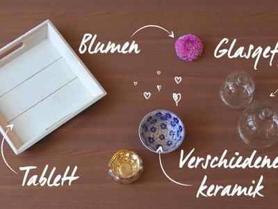 Schmuck auf Tablett dekorieren | WESTWING DIY Tipps