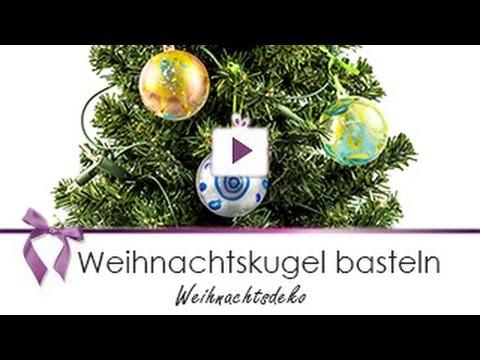 [Weihnachtsdeko] Eigene Weihnachtskugel basteln | DANATO