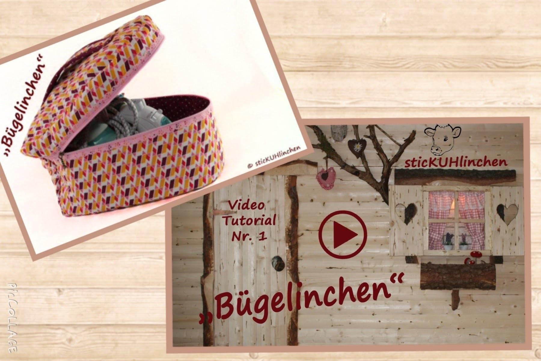 Bügelinchen von sticKUHlinchen eine Tasche für das Bügeleisen nähen incl. kostenlosem Schnittmuster