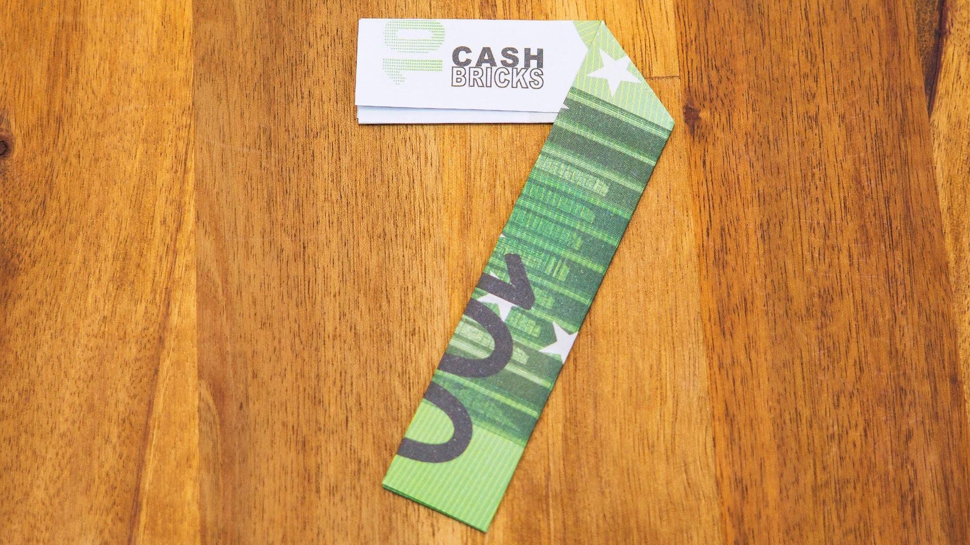 Zahl 7 aus Geldscheinen falten, Origami Geldgeschenk, Nummer 7.10