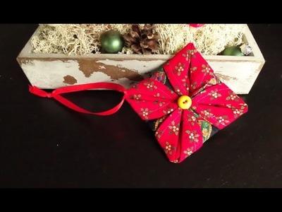 DaIsY´s DIY - Weihnachtsbaumschmuck in 15 Minuten nähen