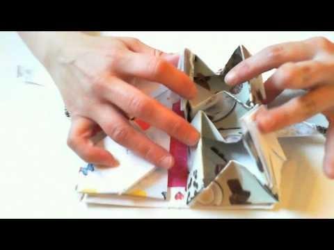 Origami buch Box
