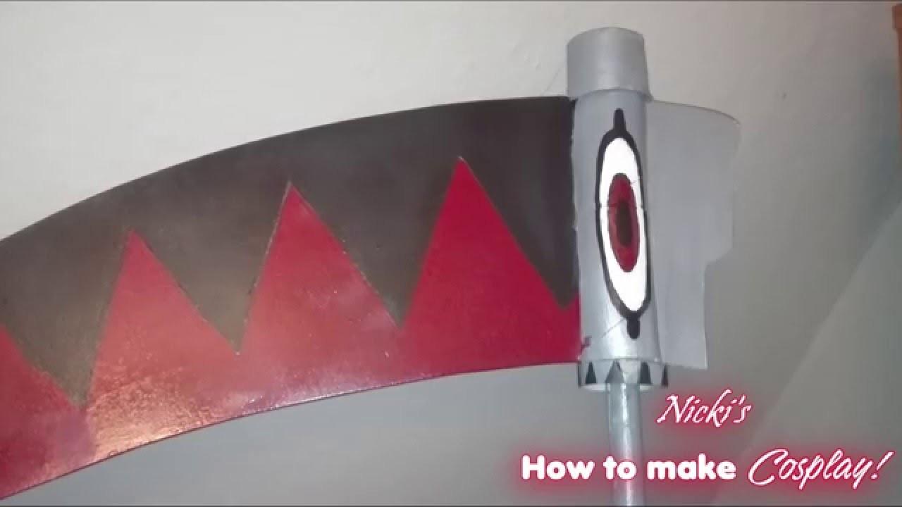 Soul Eater Sense selber herstellen!  ♠D.I.Y♠ [How to make Cosplay!]