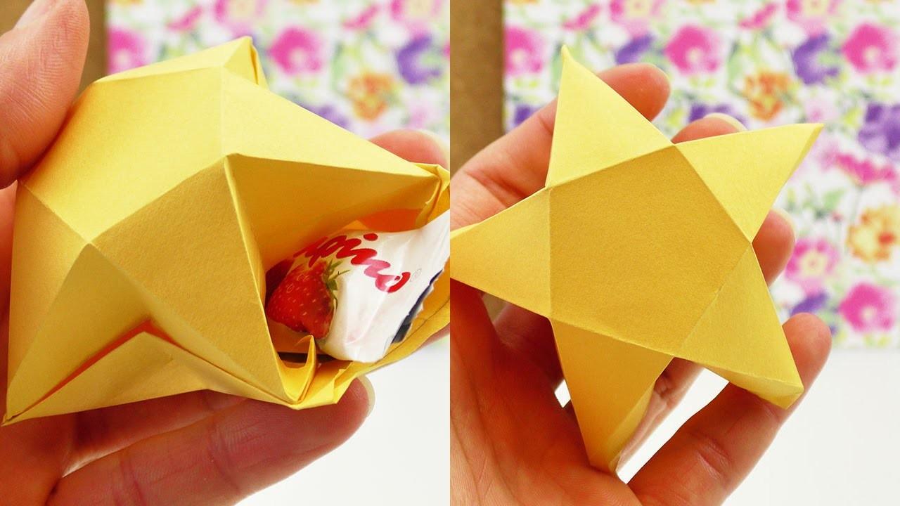 Sternchen Box DIY | Geschenkverpackung oder Deko | Weihnachten Baumschmuck | X-Mas
