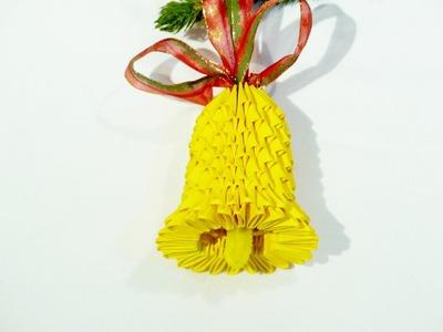 3D origami bell tutorial - 3D Origami Glocke Tutorial (Deutsch)