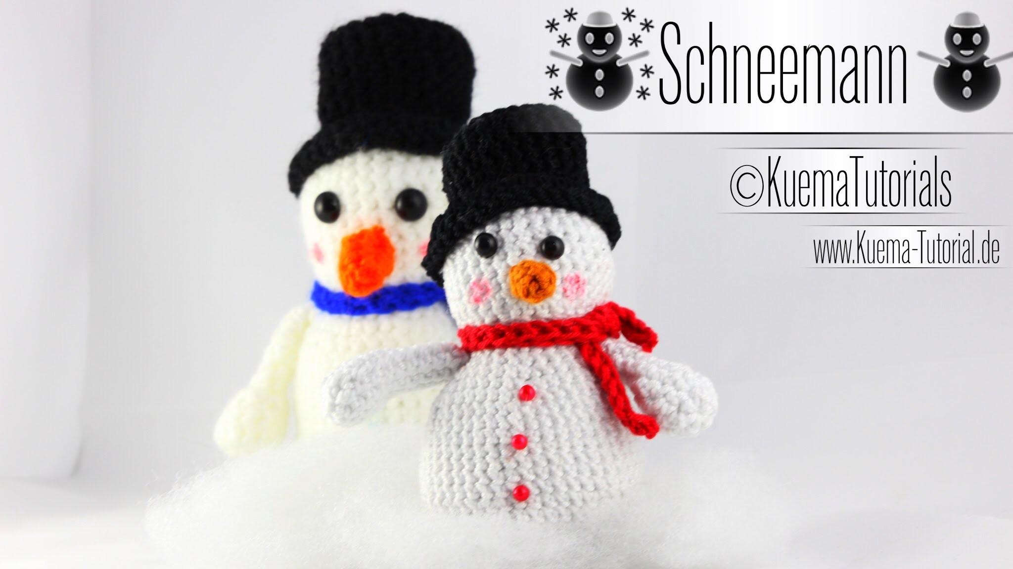Amigurumi Schneemann  - Snowmen