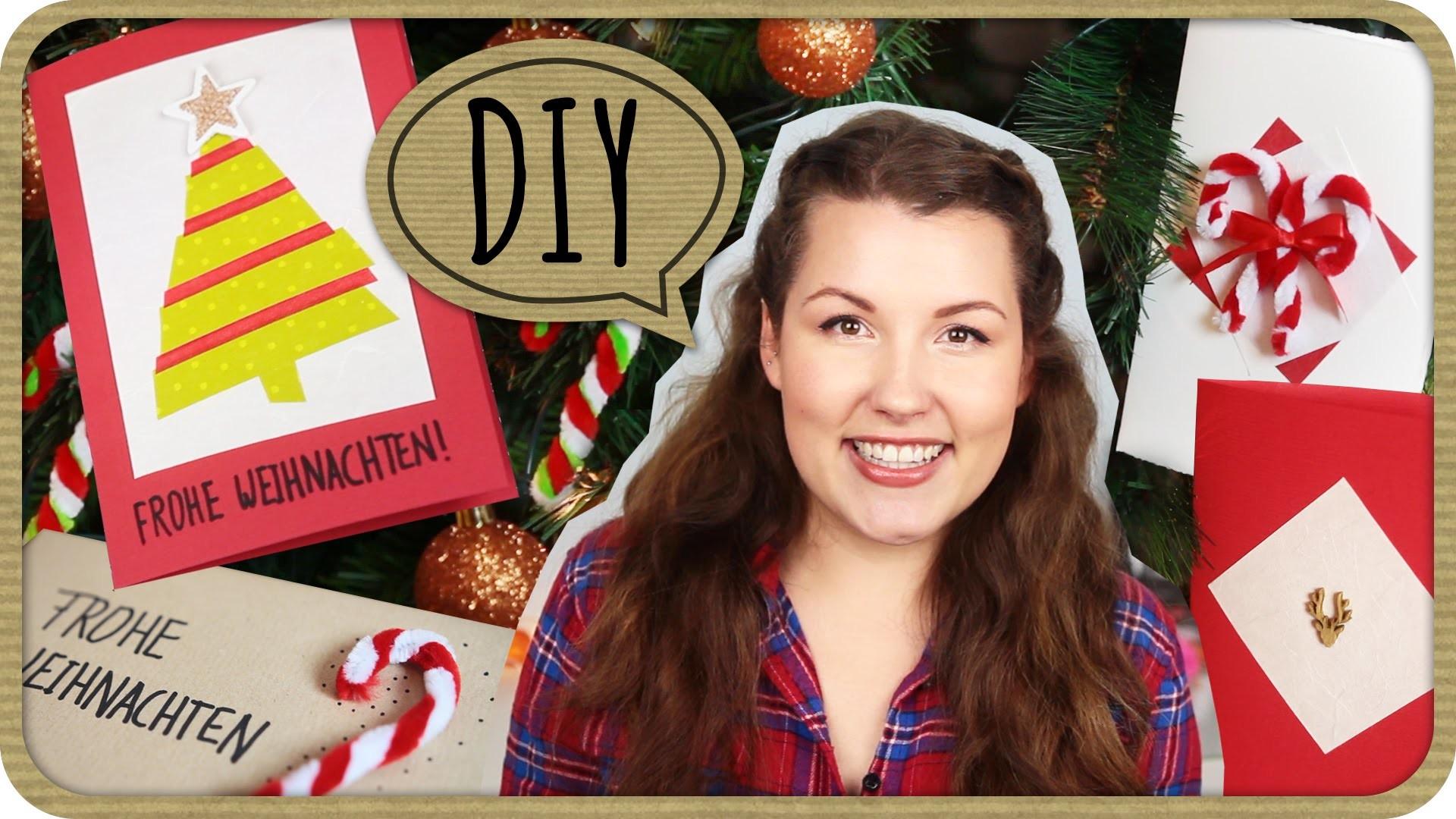 DIY Grußkarten, Verpackungsidee & Deko für Weihnachten II Sissi