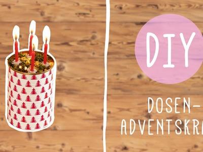 DIY mit Nina: Adventskranz selber machen