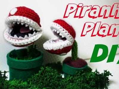 Piranha Plant Häkelanleitung Amigurumi *einfach* DIY