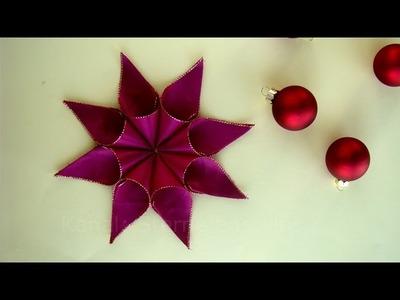 Weihnachtssterne Basteln - Weihnachtsbasteln - Sterne basteln Weihnachten - Ideen