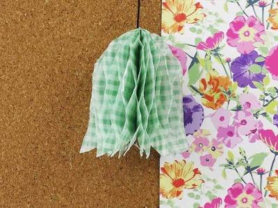 Zimmerdeko aus Papier selbermachen | Idee für verschiedene Jahreszeiten | Weihnachten & Ostern