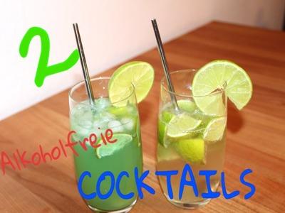2 erfrischende & alkoholfreie Cocktails #DIY