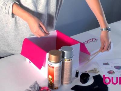 Burda style DIY Box