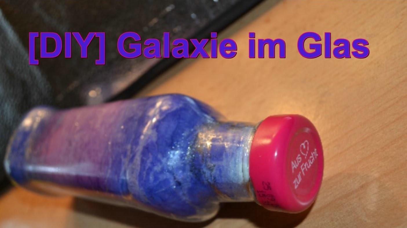 [DIY] Galaxie im Glas I German I DIY Themenwoche