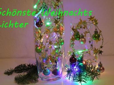 DIY Lichterkette, Schmuck aus Sternendraht - DIY Lights, jewelry from wire stars