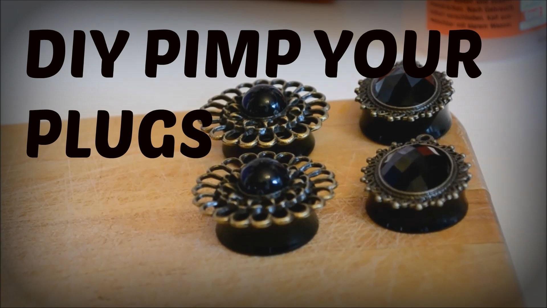 DIY PIMP YOUR PLUGS | Laura He