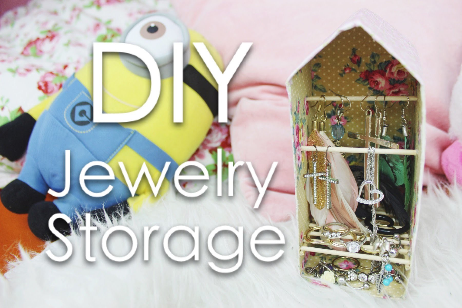 DIY Schmuckablage. Jewelry storage | Hue Chi