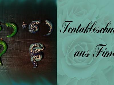 Tentakelschmuck aus FIMO - DIY