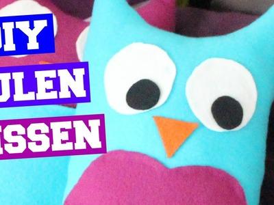 DIY Owl Pillows   Eulenkissen   Geschenkidee