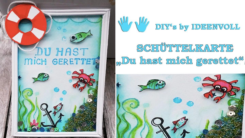Schüttelkarte. shaker card. DIY