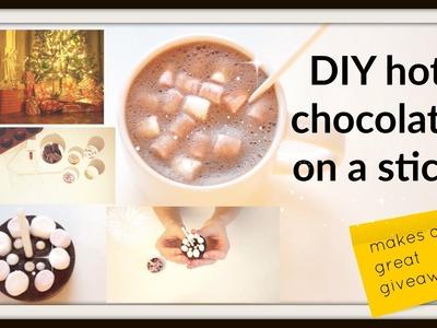 DIY hot chocolate on a stick *german*