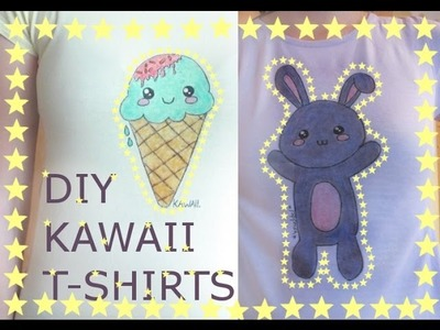 DIY Kawaii T-Shirts