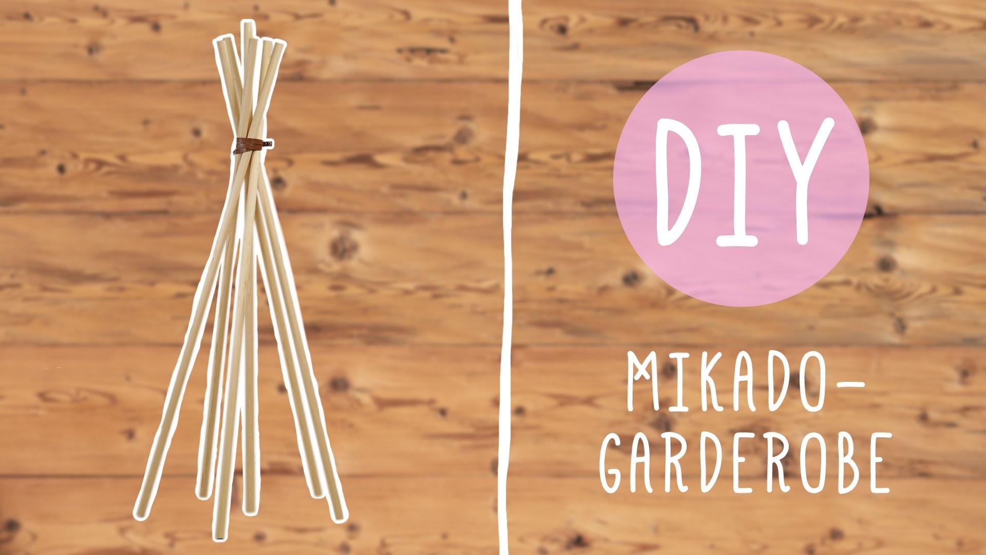 DIY mit Nina: Die Mikado Garderobe