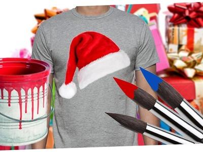 DIY Weihnachtsmützen T-Shirt | Art the Bird |