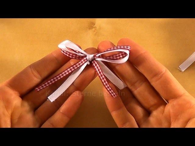Geschenkschleife basteln schleife binden geschenke for Schleife binden geschenk