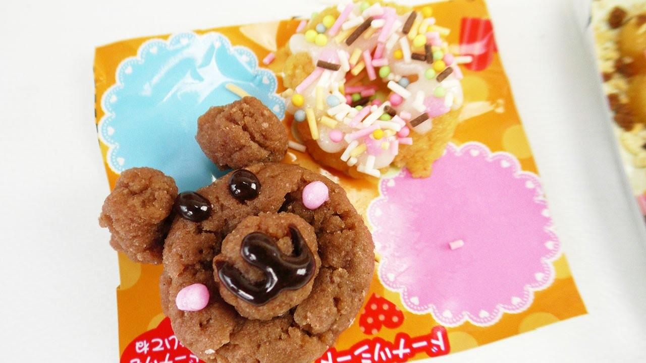 Kracie Popin' Cookin' Set Soft Donuts DIY Süßigkeiten Snacktest | Japanische Süßigkeiten | DIY