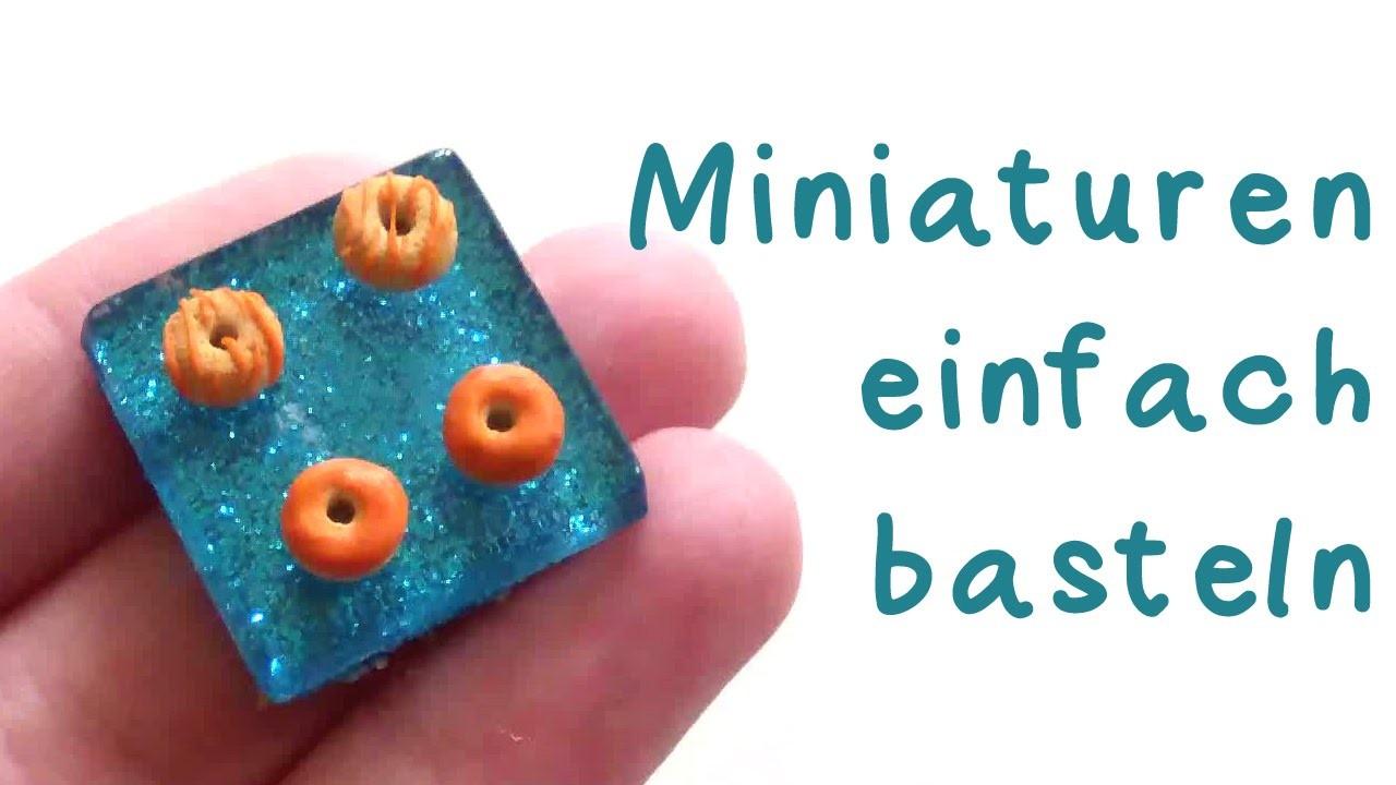 [Quick Tipp] Miniaturen basteln leicht gemacht! | Anielas Fimo