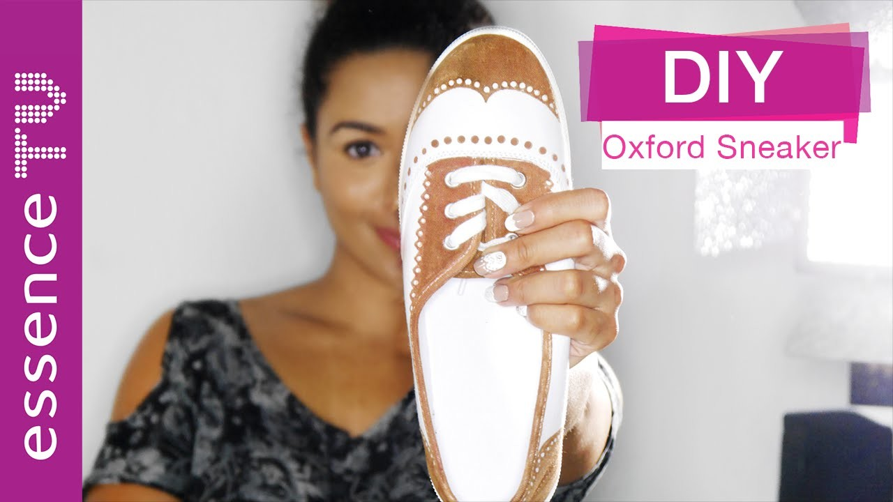 Back to school - oxford sneaker diy tumblr inspired l essenceTV