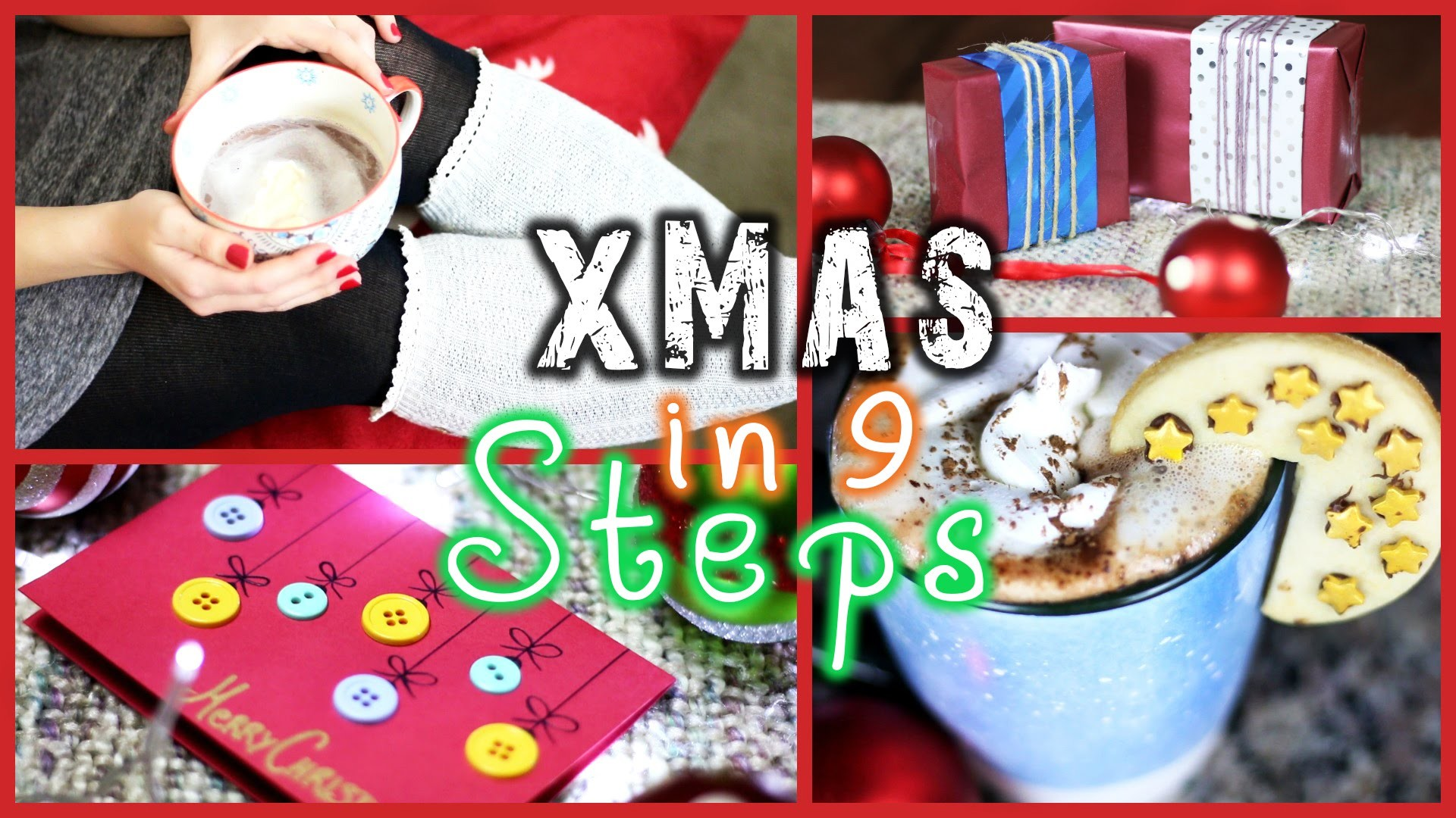 CHRISTMAS-READY IN 9 STEPS! - DIY's, Deko & Hacks