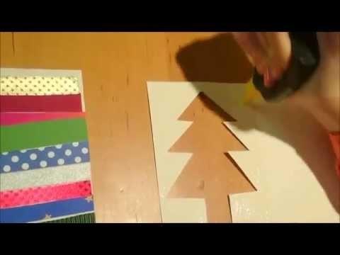 Mimela Weihnachtskarten DIY