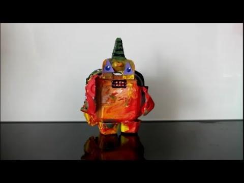 DIY: Roboter Zeitraffer basteln. Robot time lapse