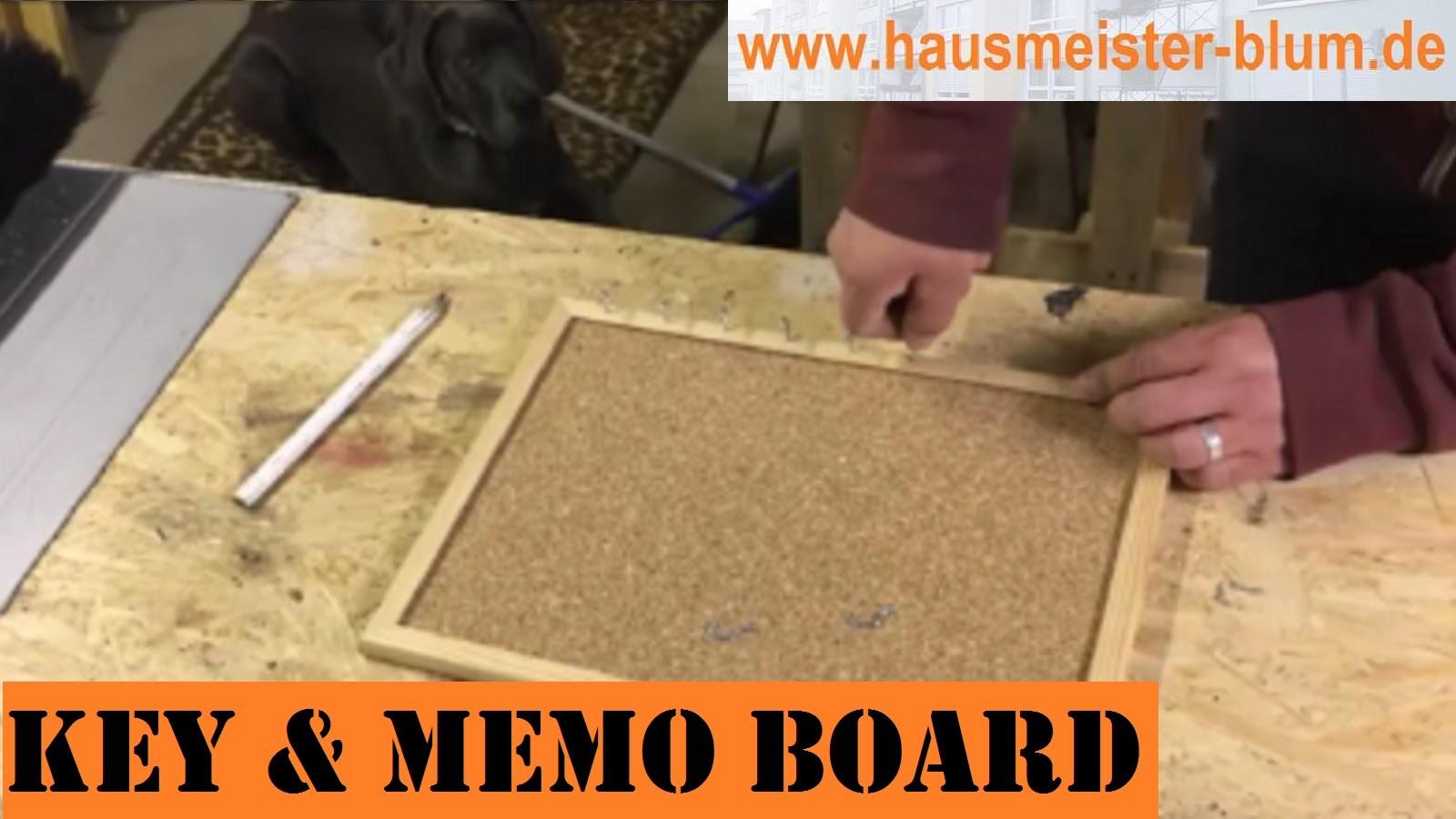 DIY: Schlüsselbrett & Pinnwand [ rebuild key & memo board ]