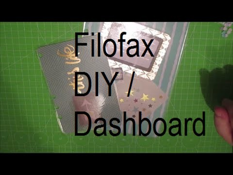Filofax l DIY Dashboard I It´s Kristinas Life