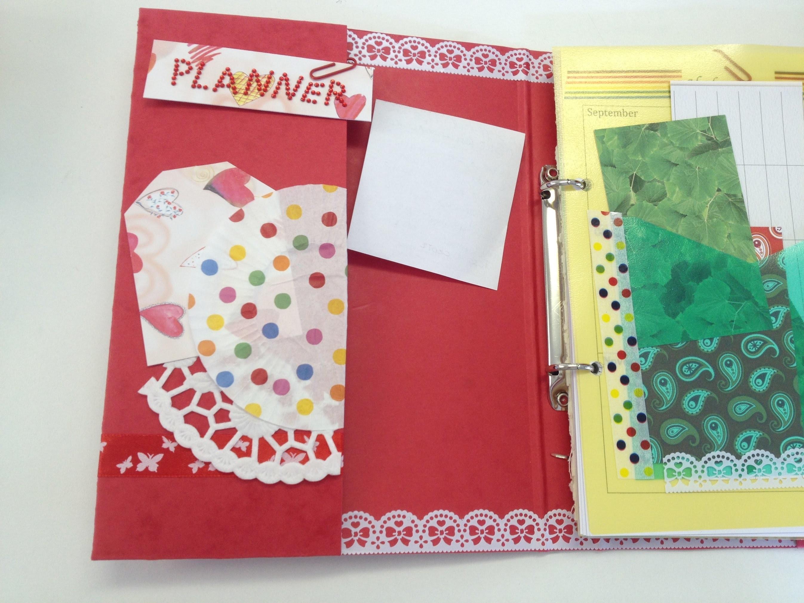 Organizer.Planner selber machen. Mein Organizer DIY